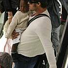 brad angelina airport08