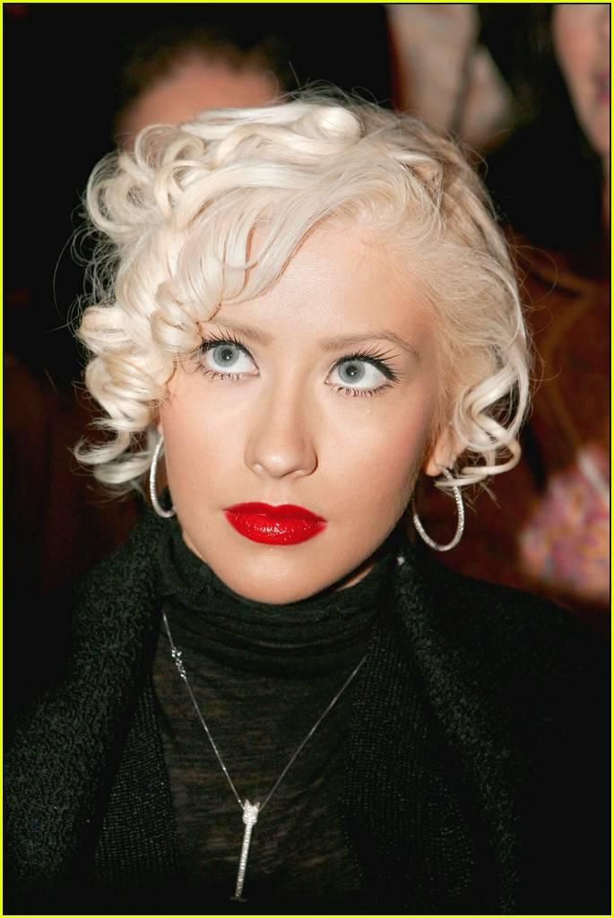 Christina Aguilera At ... Christina Aguilera Obituary