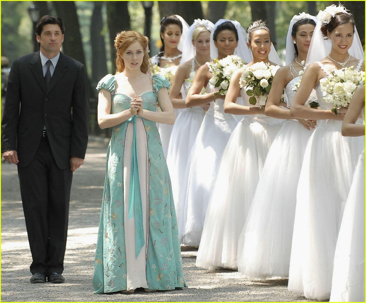 Dempsey and Adams Gett... Amy Adams Wedding