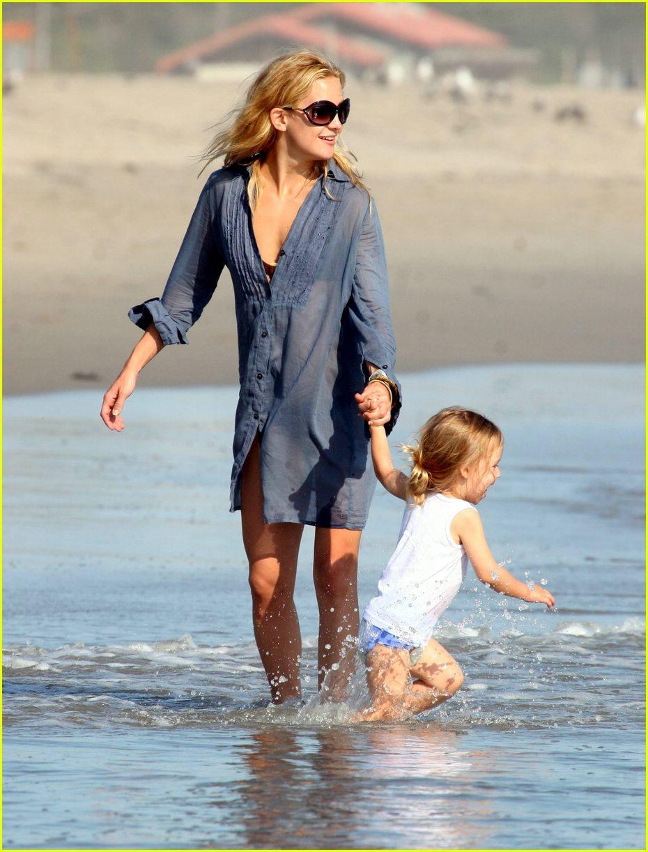 Kate Hudson & Son ...