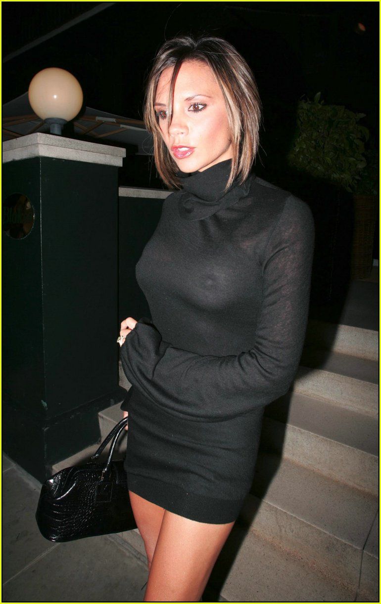 Victoria Beckham See Through
