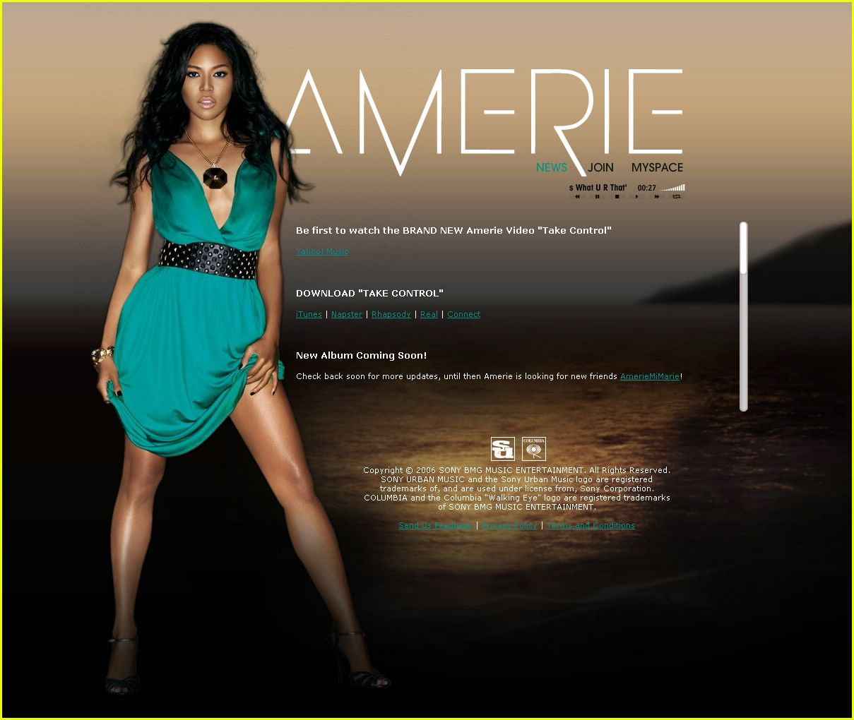 "Amerie - ""Lose Control"" Music Video: Photo 2423255 
