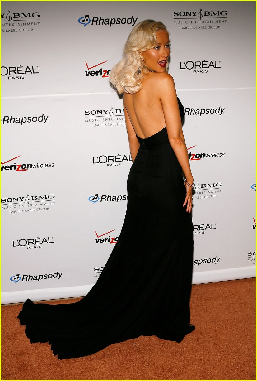 clive davis grammy party 05