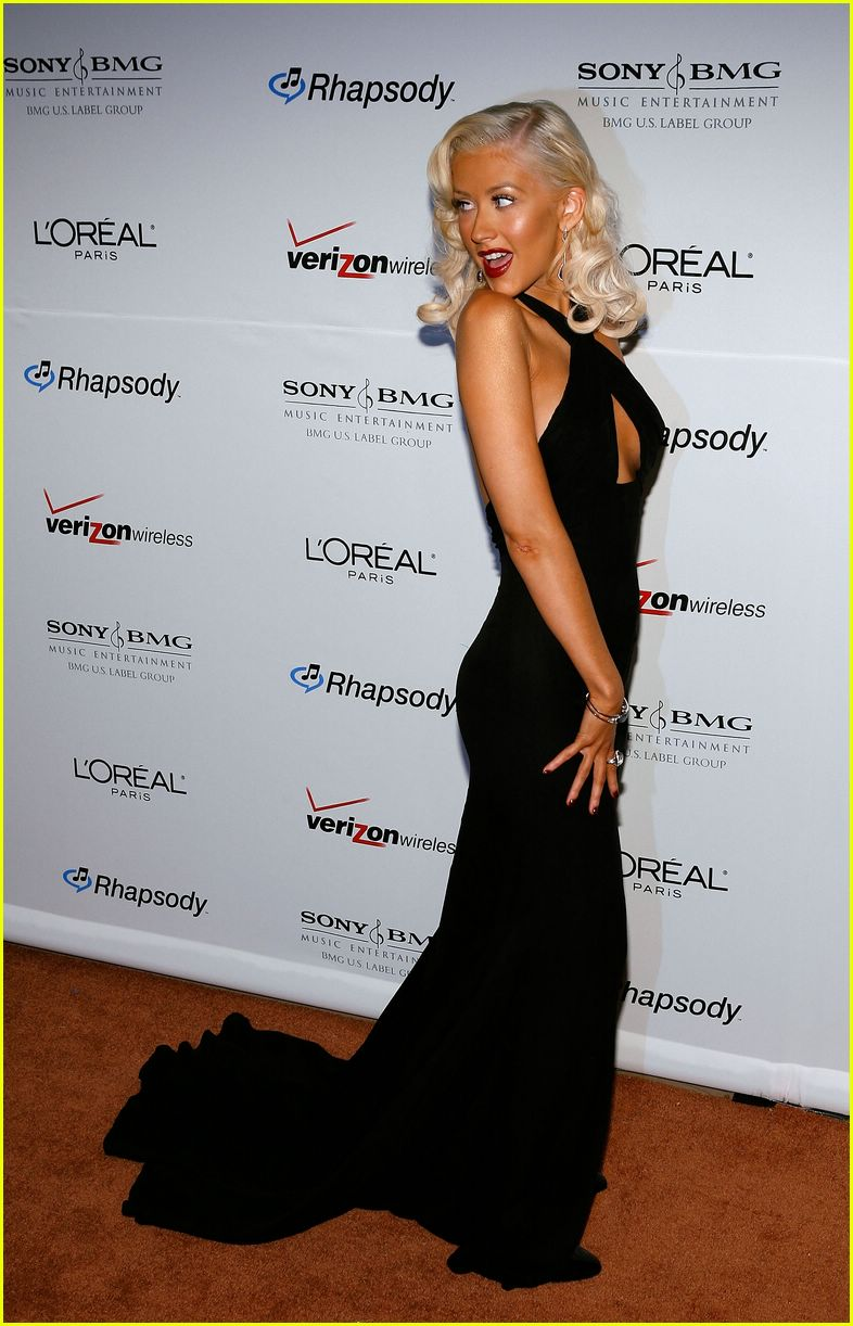 clive davis grammy party 07