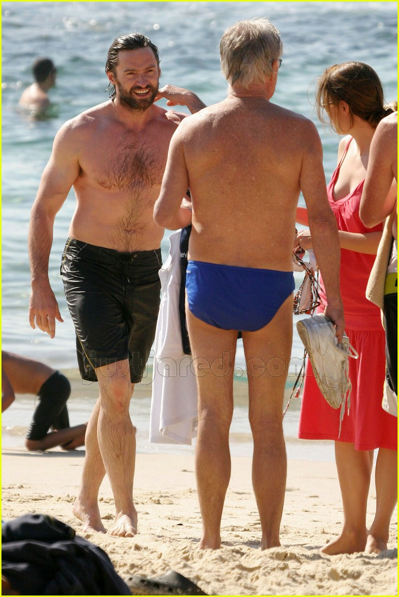 hugh jackman speedo