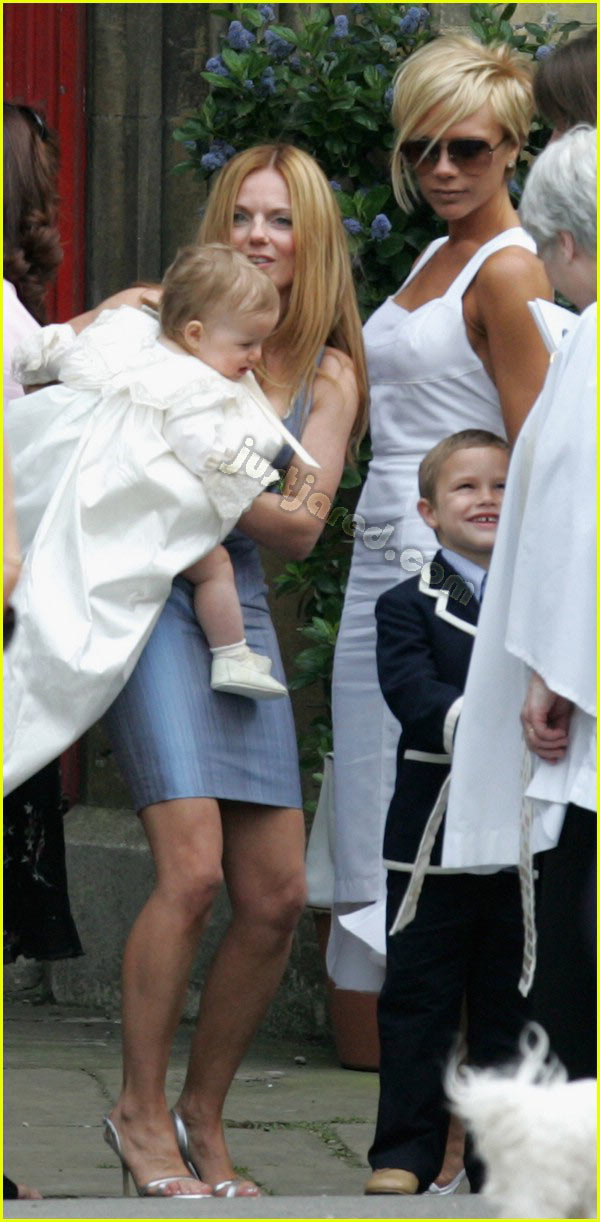 victoria beckham geri halliwell bluebell christening 05
