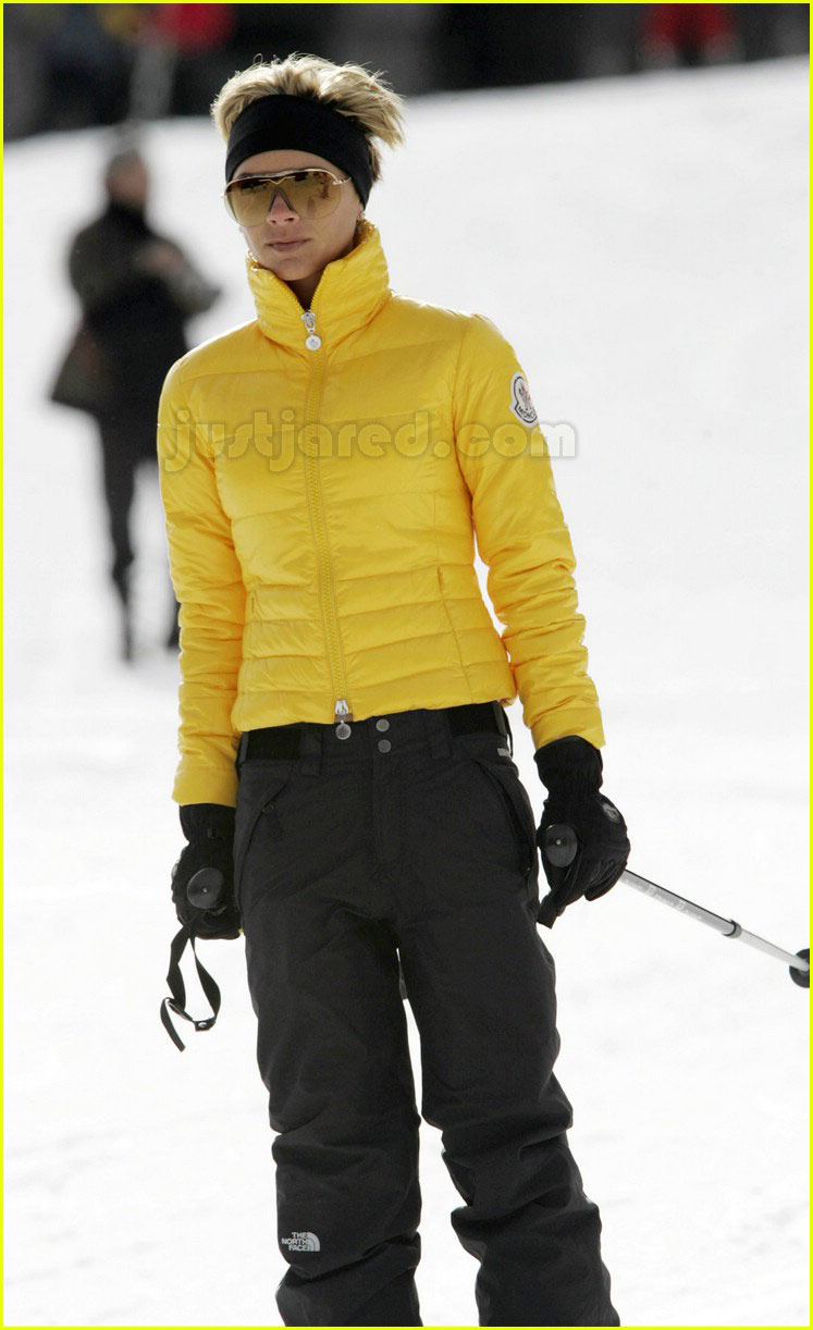 posh spice skiing 24