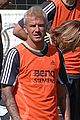 david beckham soccer training 03