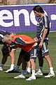 david beckham soccer training 04