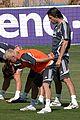 david beckham soccer training 04