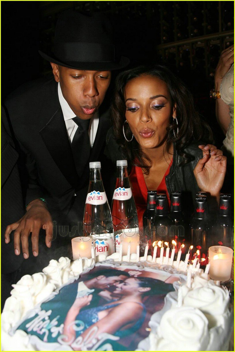 nick cannon selita ebanks engagement party 01