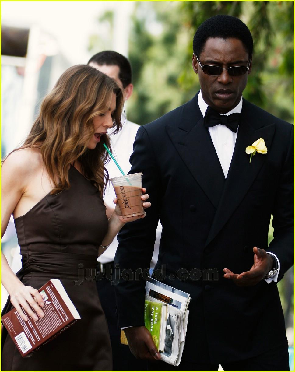 Full Sized Photo of ellen pompeo isaiah washington 02 ... Jennifer Aniston Wedding