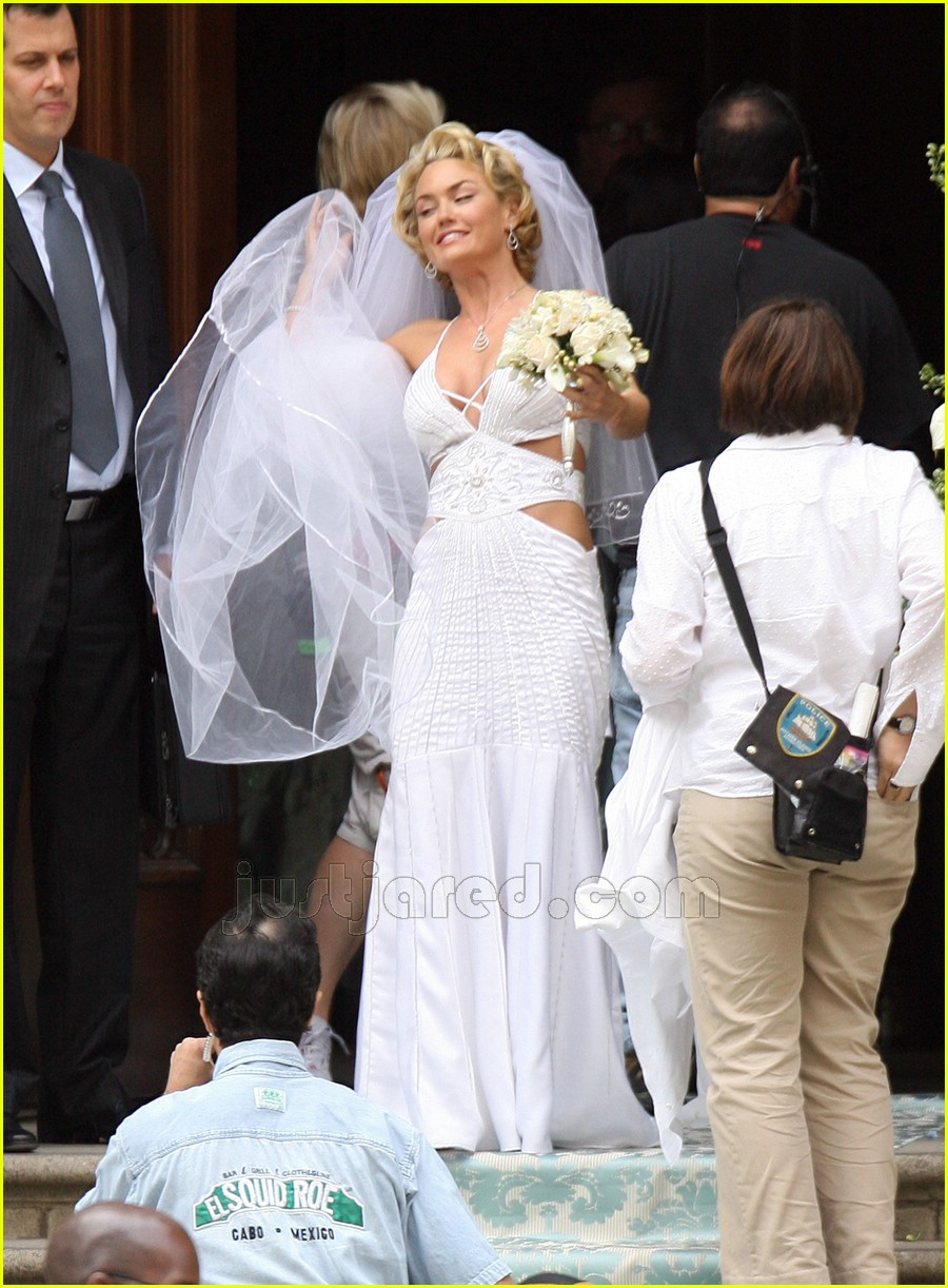 Kelly Carlson made of honor