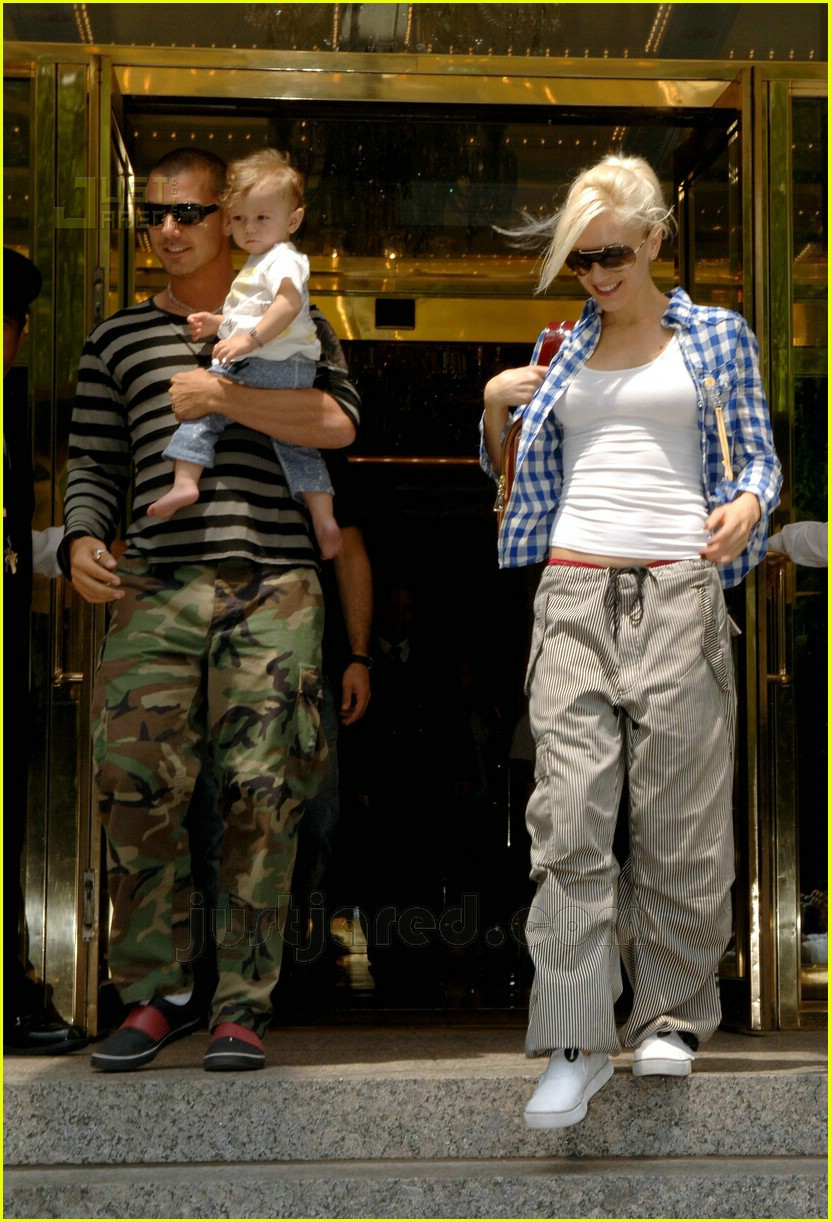 07 kingston rossdale gwen stefani
