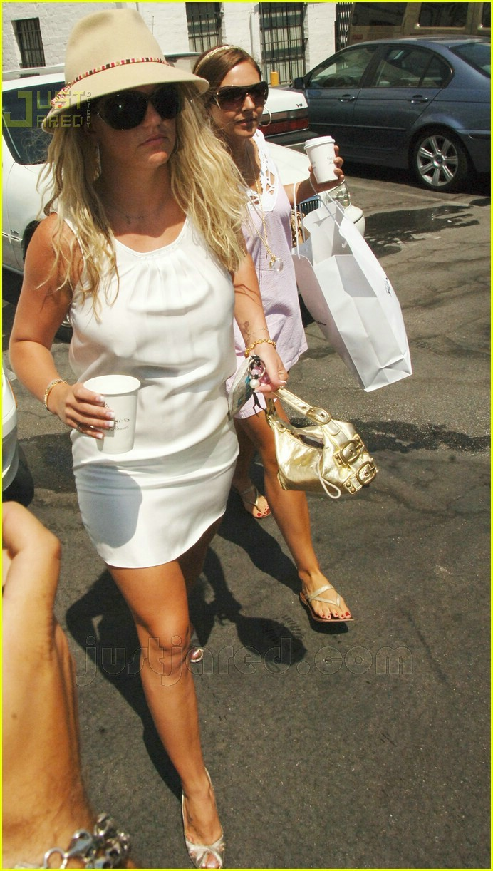britney spears white hot 08