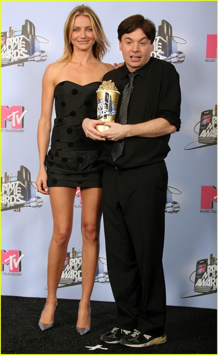 cameron diaz mtv movie awards 2007 photo 413271