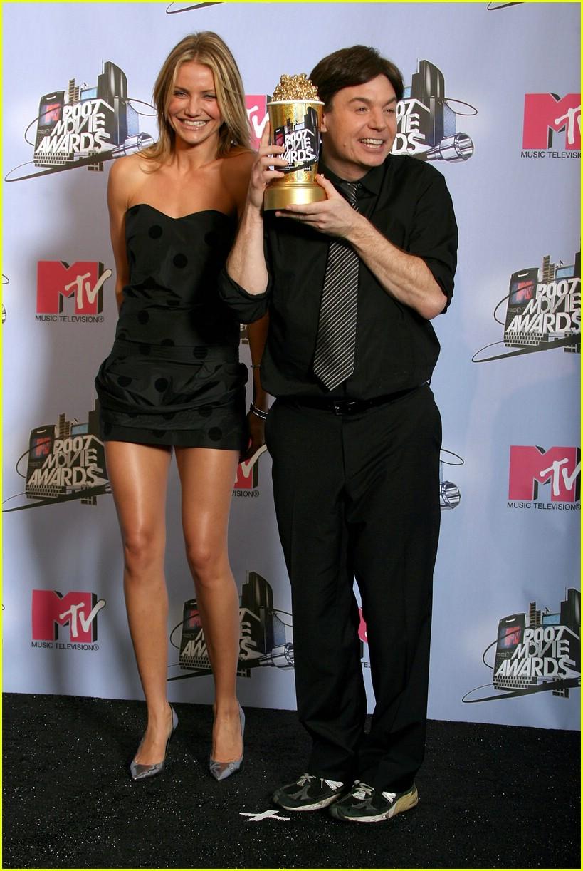 cameron diaz mtv movie awards 2007 photo 413281