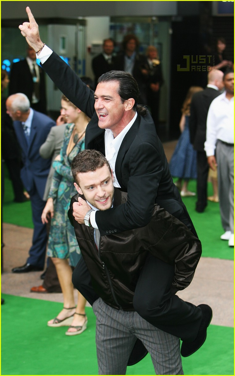 Full Sized Photo of cameron diaz justin timberlake shrek ... Antonio Banderas