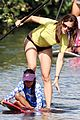 13 jennifer garner paddle boarding