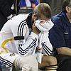 david beckham injured knee 10