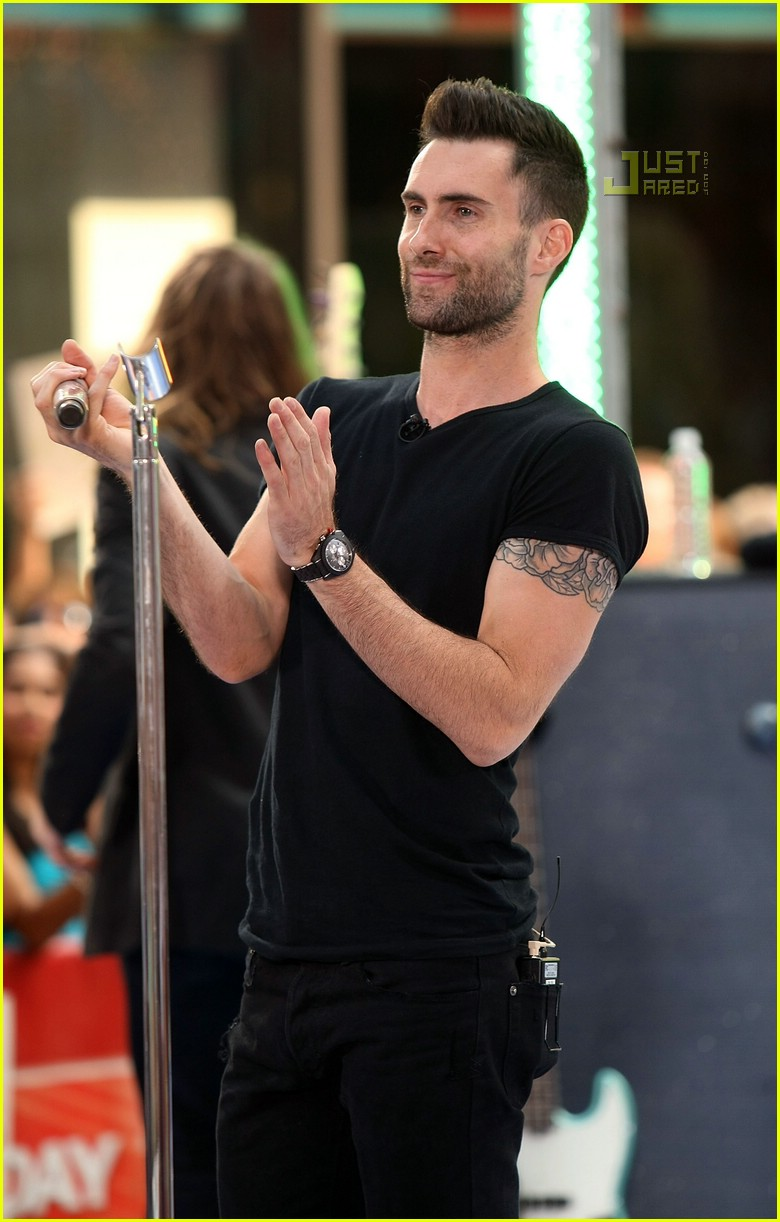 adam levine the today show 11