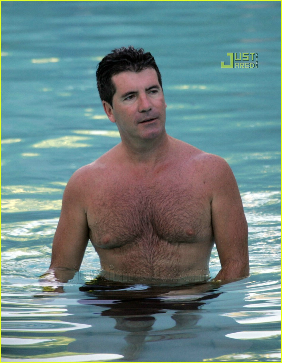 simon cowell shirtless 19