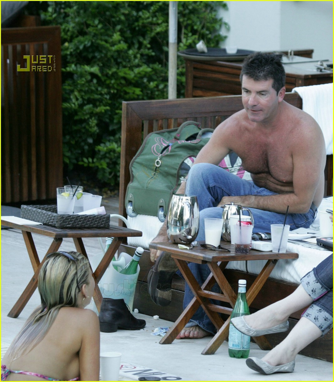 simon cowell shirtless 21