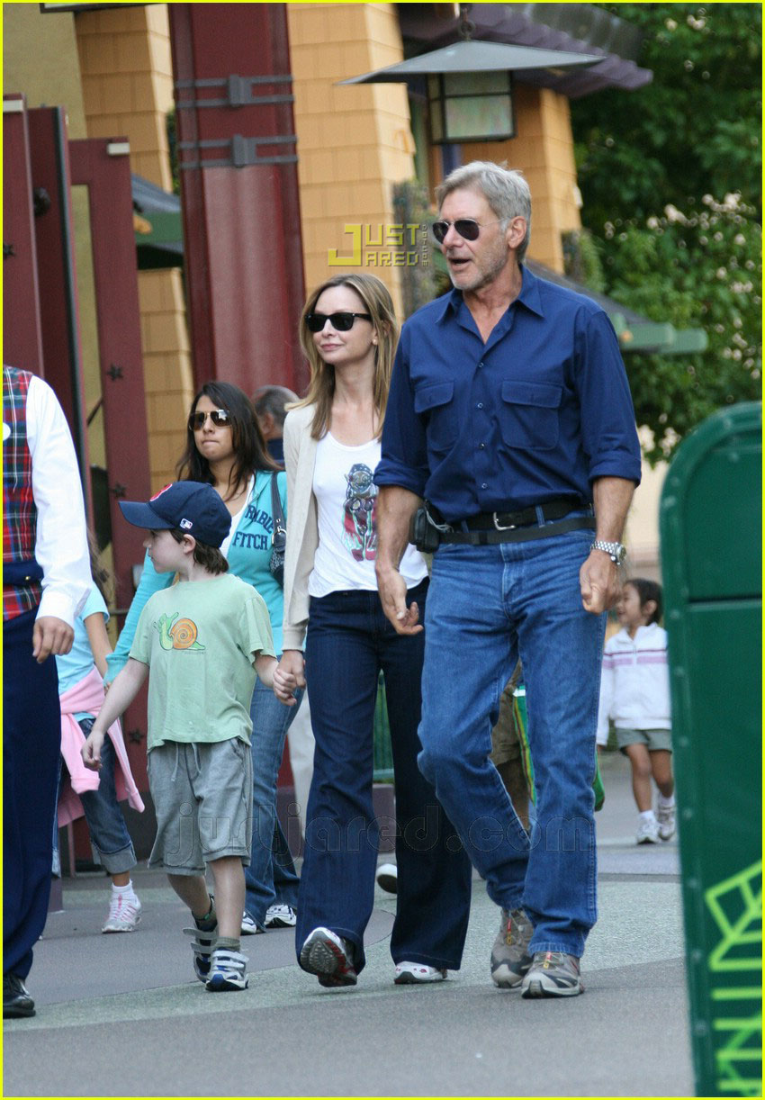 Harrison Ford Does Disneyland: Photo 609051 | Calista ...