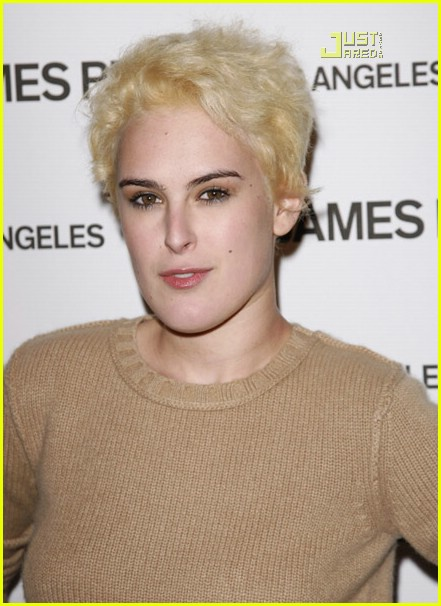 rumer willis poofy blonde hair 10618231