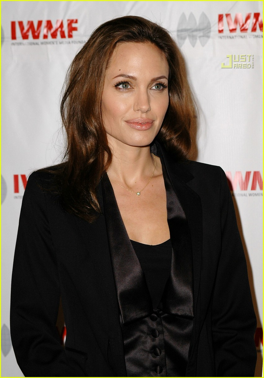 angelina jolie journalism awards 2007 07698341