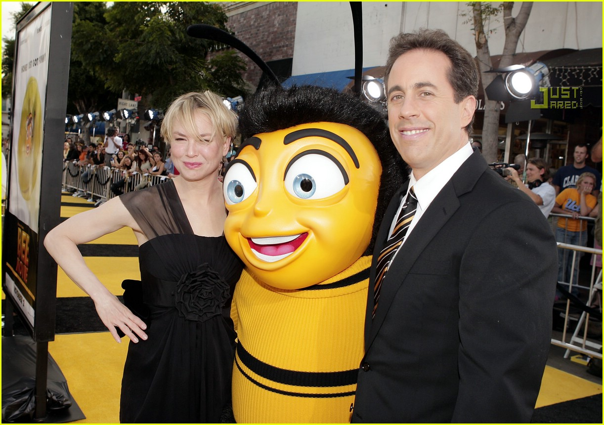 renee zellweger bee movie premi...
