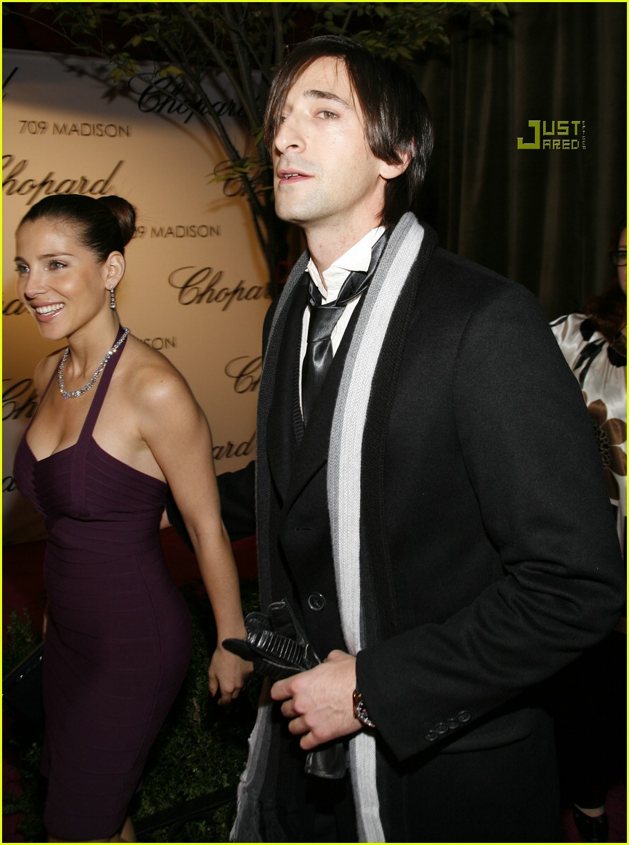 adrien brody chopard store opening 04