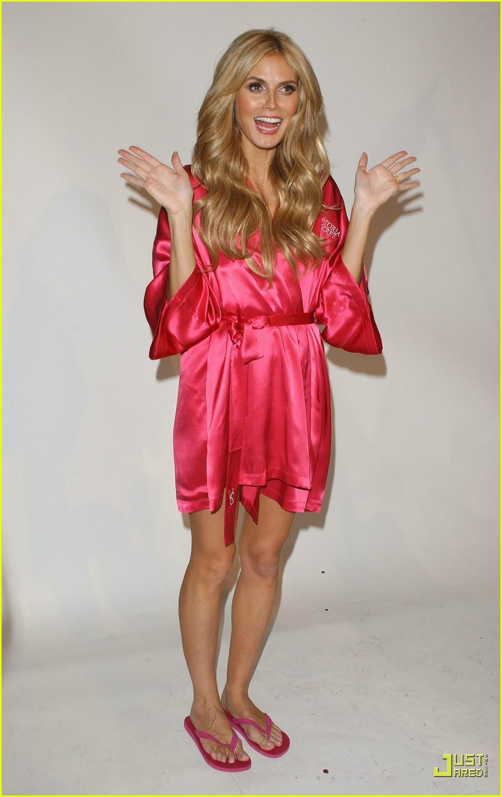 heidi klum victorias secret fashion show 2007 32