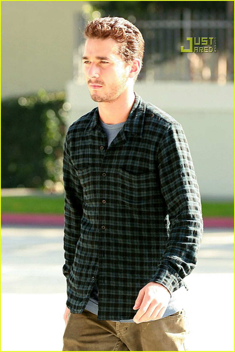 shia labeouf plaid 11