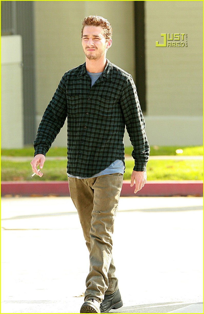 shia labeouf plaid 15