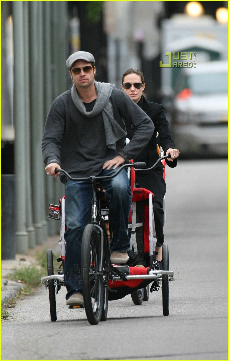brad pitt bicycle built for four 12