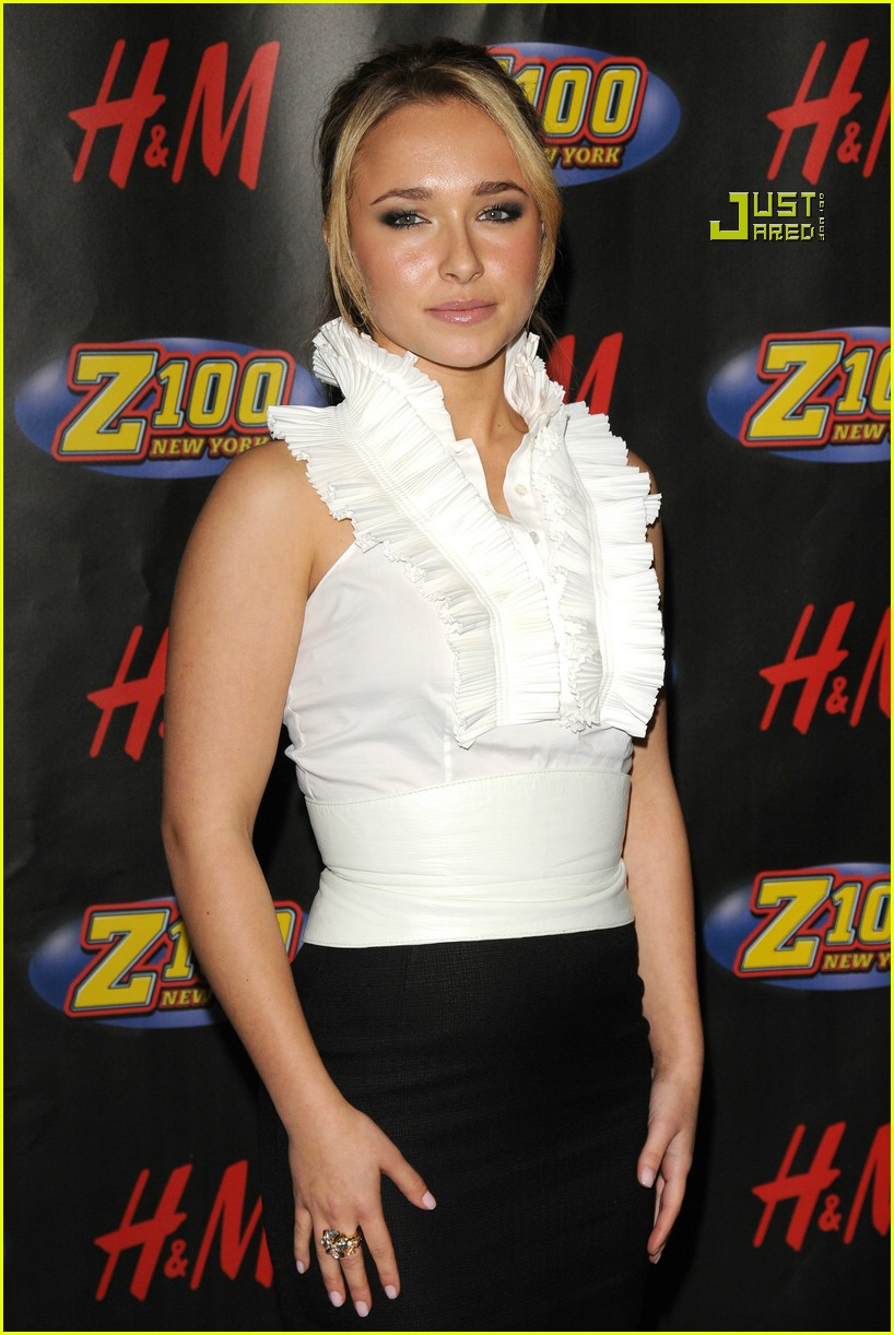 hayden panettiere jingle ball 08804511