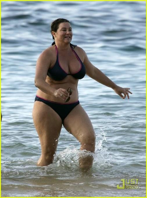 tall big boned women in bikinis