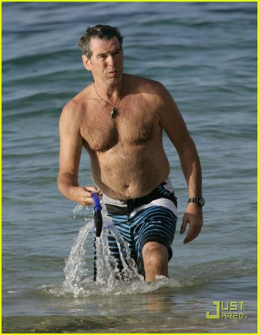 pierce brosnan shirtless 20