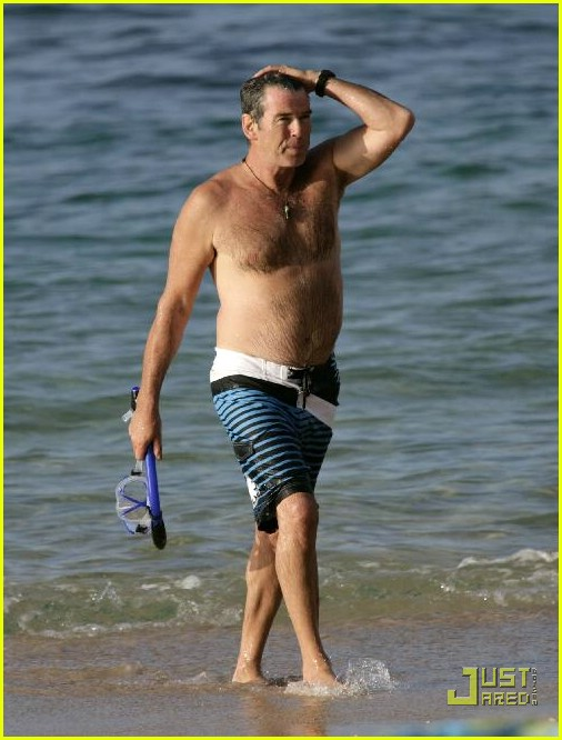 pierce brosnan shirtless 23