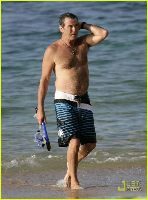 pierce brosnan shirtless 24