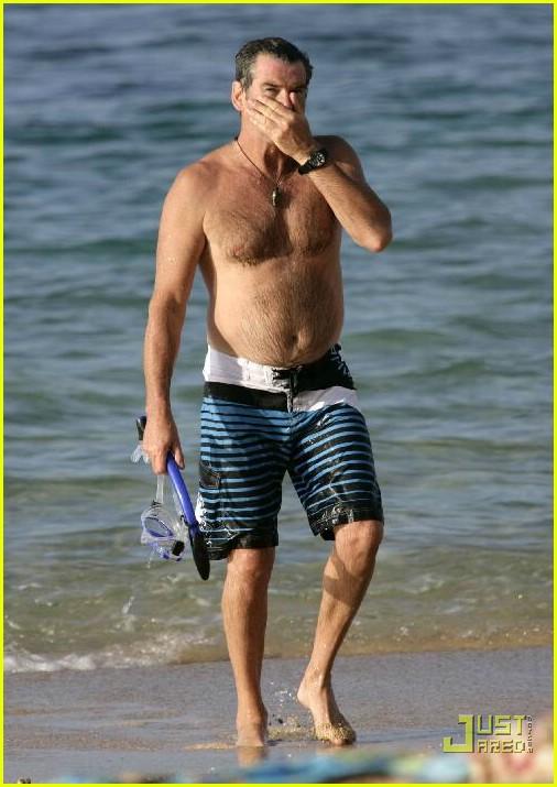 pierce brosnan shirtless 25