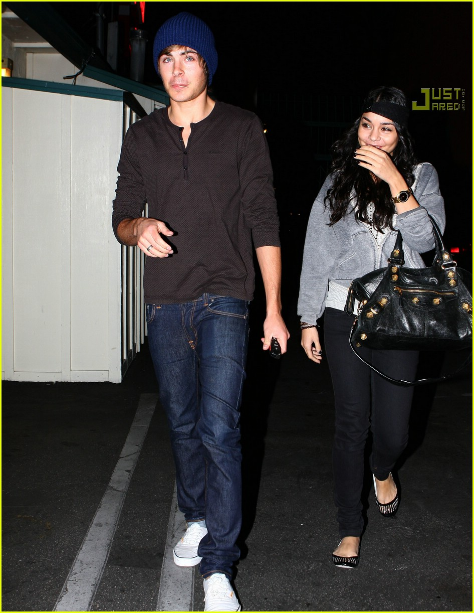 zanessa first date 2008 01