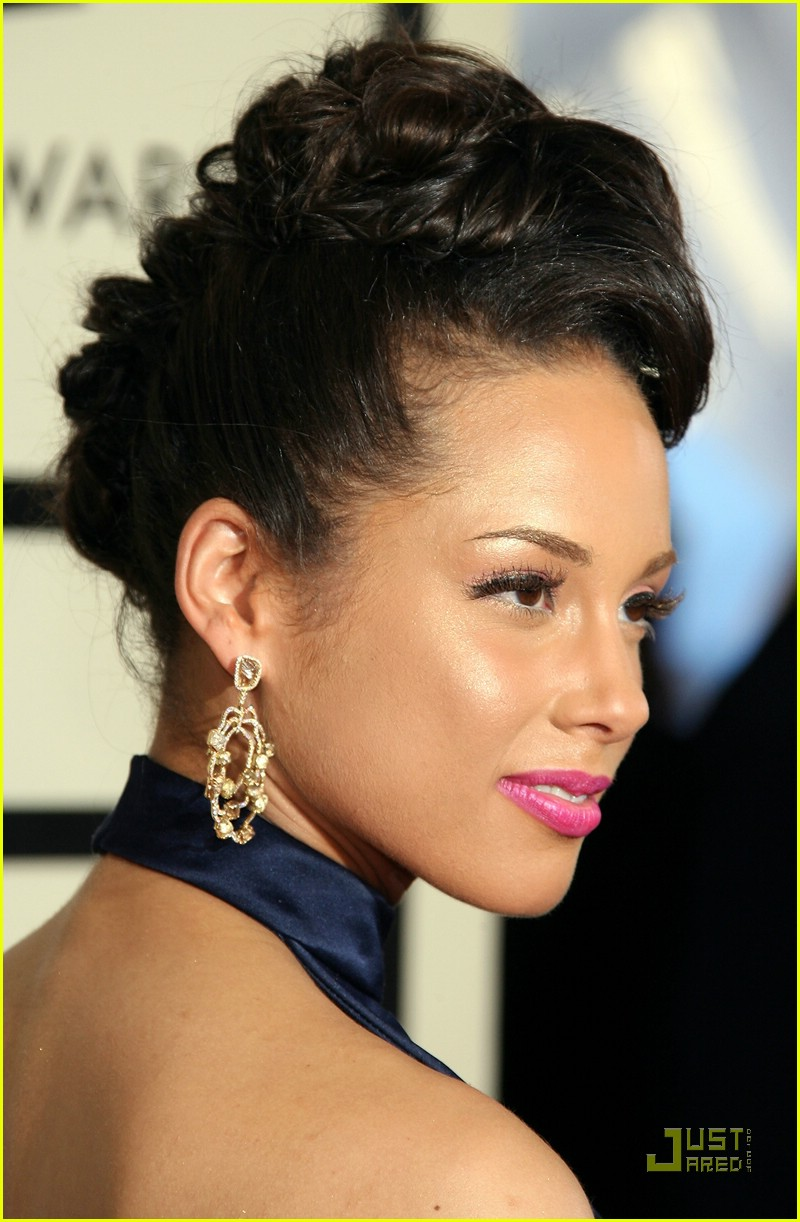 alicia keys grammys 2008 81
