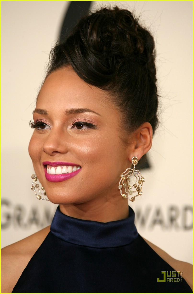 alicia keys grammys 2008 83