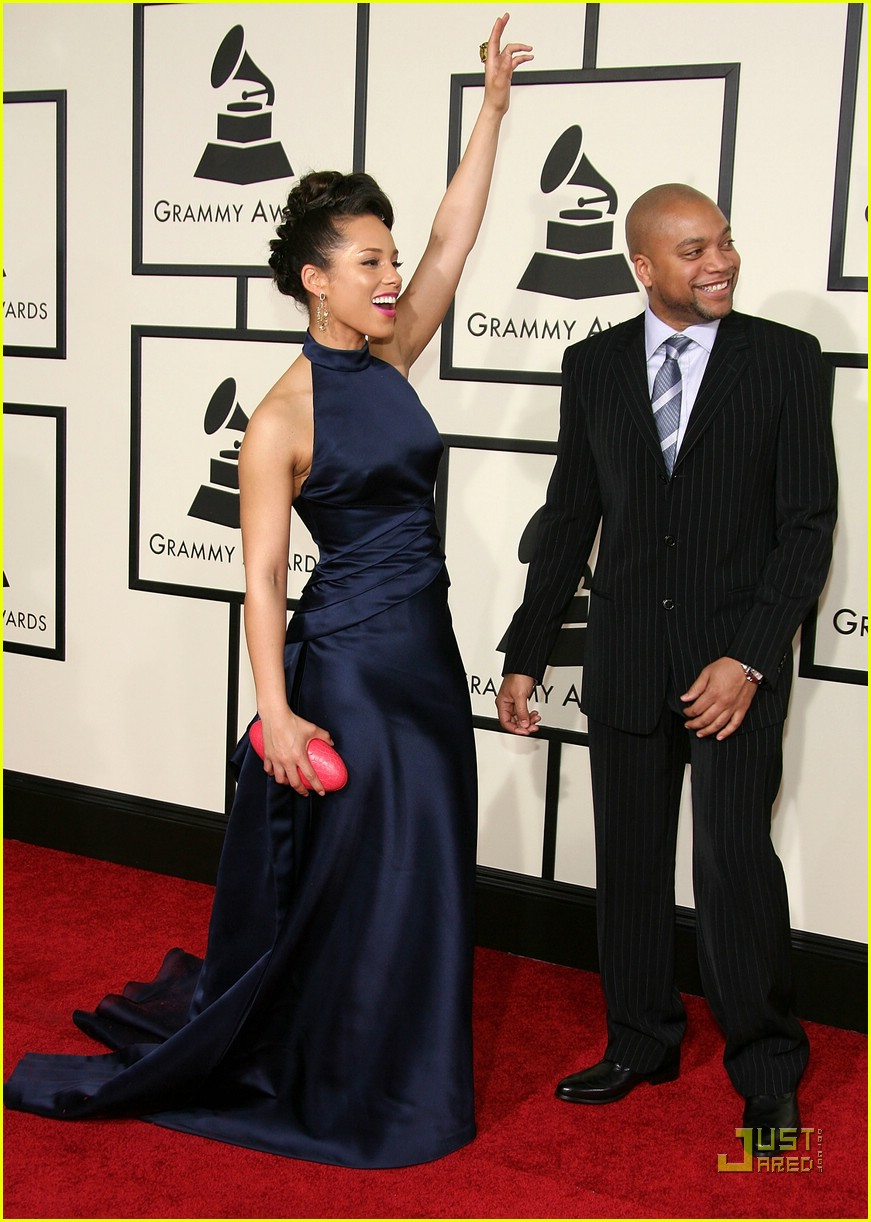 alicia keys grammys 2008 85
