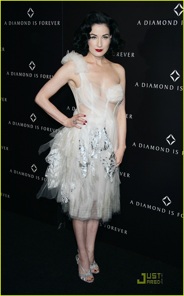 dita von teese diamond dinner 17949281