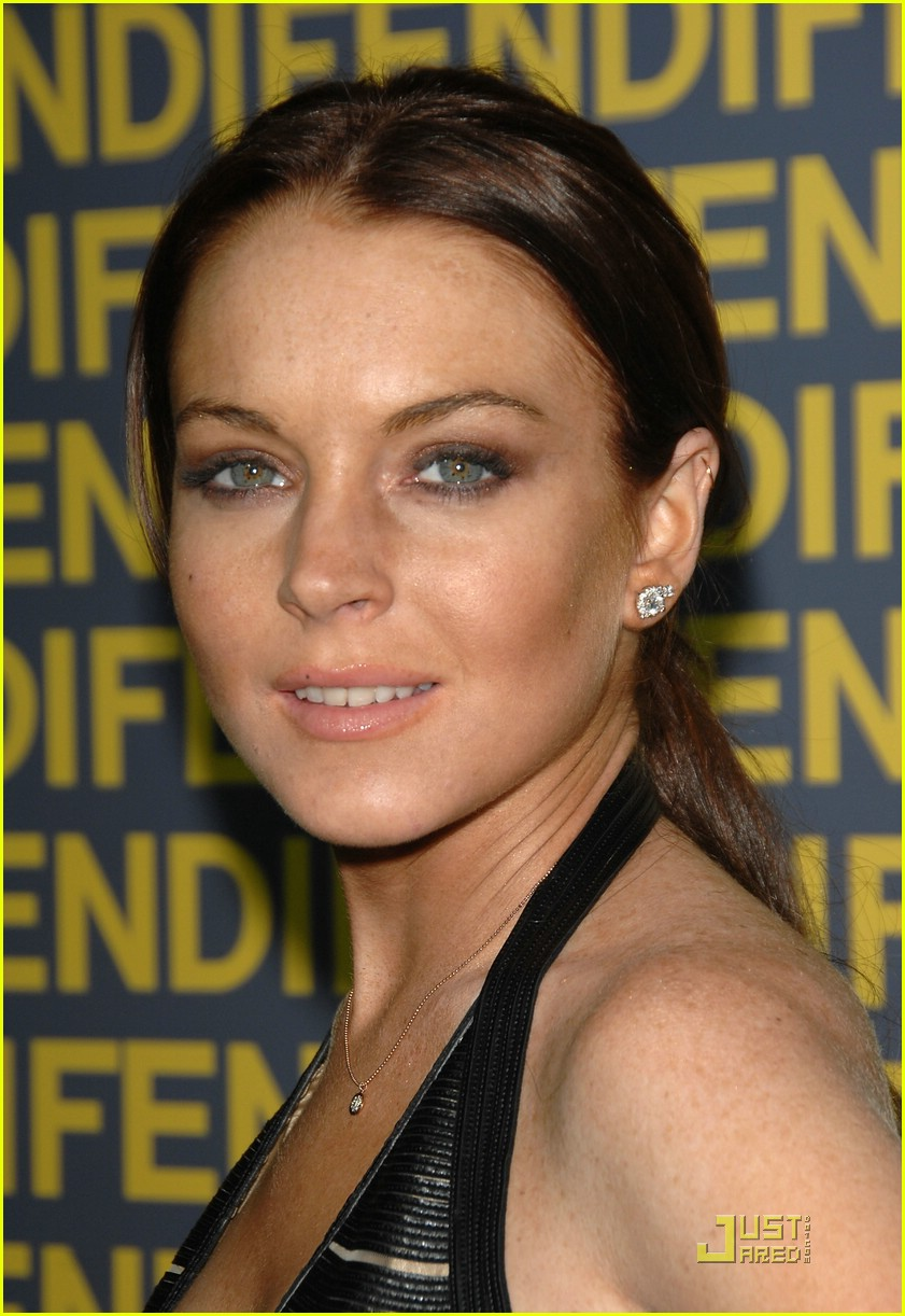 lindsay lohan fendi freak 30