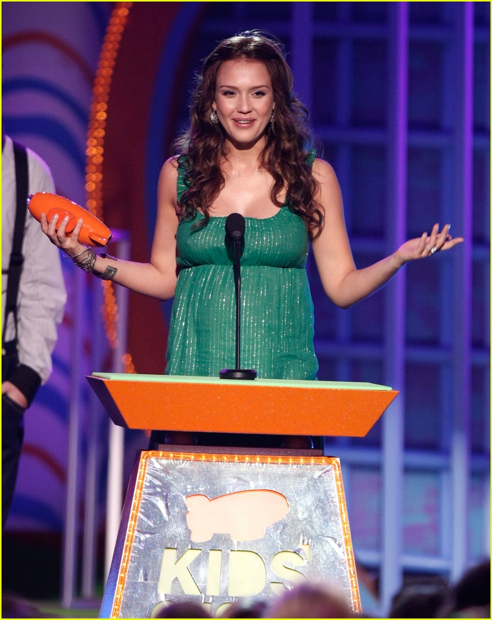 jessica alba 2008 kids choice awards 05