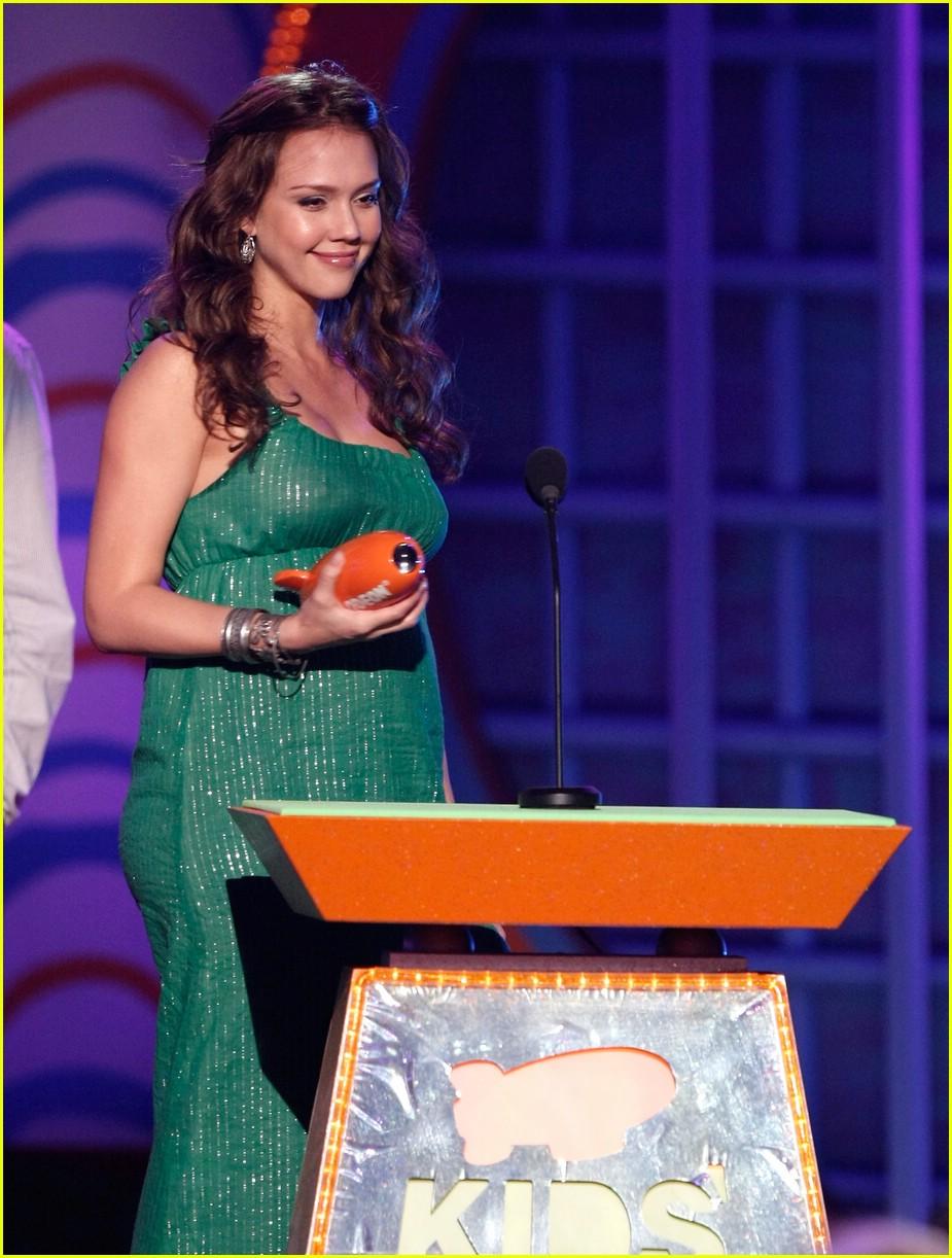jessica alba 2008 kids choice awards 07
